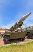 Soviet Rocket Launcher 2P16 Of Rocket System 2K6 Luna