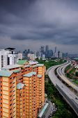 foto of kuala lumpur skyline  - Kuala Lumpur  - JPG
