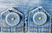 Jeans Button On Jeans Fabric Tag Horizontal View