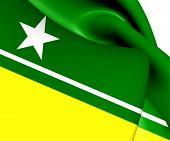 Flag Of Boa Vista, Brazil.
