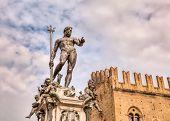 Bologna, Italy - Statue Of Neptune