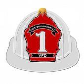 Vintage Fire Fighters Helmet