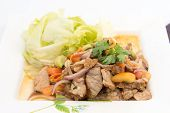 Beef Salad With Juicy Dressing, Thai Call