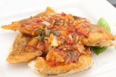 Fish Fillet With Three Flavor Spicy Sauce