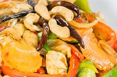 Pad Cashew Nut With Chicken And Sauteed