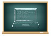 board laptop