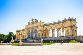 The Gloriette In Schoenbrunn Palace Garden