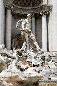 Fountain Di Trevi - Famous Rome's Place