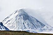 Kliuchevskoi Volcano - active volcano on Kamchatka