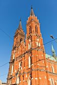 Dormition Of Blessed Mary Church (1897) In Lodz, Poland