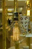 Old-fashioned Incandescent Bulb
