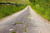 Fields Asphalt Road