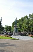 HELSINKI-AUGUST 23: Central Park from Helsinki in Finland on august 23