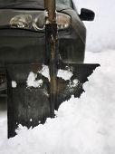 Shovel And Car