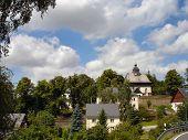 A municipality in Erzgebirge