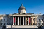 National Gallery Under A Blue Sky