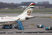Boeing from etihad airways