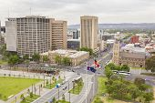 View Of Adelaide City In Australia In The Daytime