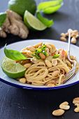 Peanut ginger one pan pasta