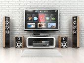 foto of home theater  - Home cinemar system - JPG