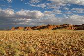 Scenic Cliff Landscape In Namibia