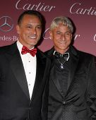 LOS ANGELES - JAN 3:  Johnny Chaillot, Greg Louganis at the Palm Springs Film Festival Gala at a Convention Center on January 3, 2014 in Palm Springs, CA