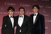 LOS ANGELES - JAN 3:  Alex Lawther, Allen Leech, Matthew Beard at the Palm Springs Film Festival Gala at a Convention Center on January 3, 2014 in Palm Springs, CA