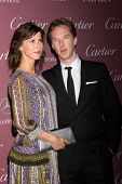LOS ANGELES - JAN 3:  Sophie Hunter, Benedict Cumberbatch at the Palm Springs Film Festival Gala at a Convention Center on January 3, 2014 in Palm Springs, CA