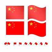 China Flags Eps10