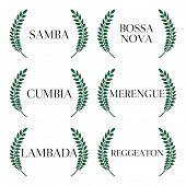 Latin Music Genres Green Laurels