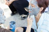 Facial Mask With Mud