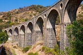 Old Bridge In Sicily