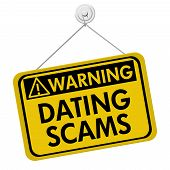 Warning Of Dating Scams Sign