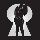 Conceptual Vector-Love Behind a Locked Door