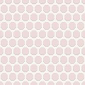 Geometric Seamless Vector Pattern with Pink Octagons
