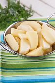 Potato In Bowl