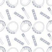 Diamond rings seamless