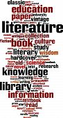 Literature Word Cloud