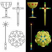 Tarot card symbols