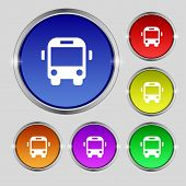 foto of bus driver  - Bus icon sign - JPG