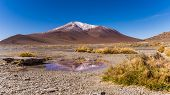 foto of incredible  - Scenery when touring the Incredible Uyuni Salt Flats In Bolivia - JPG