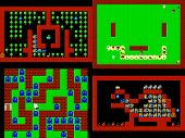 picture of pixel  - Set of retro style game pixelated graphics - JPG