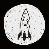 foto of spaceships  - Spaceship Doodle - JPG