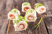 picture of buffet  - canape - JPG