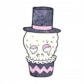 image of spooky  - spooky halloween cupcake treat - JPG