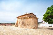 pic of mary  - Saint Michael church in Calafell town Spain - JPG