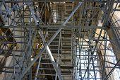 Scaffolding on the Parthenon