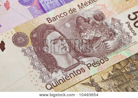 Frida Kahlo Mexican Five Hundred