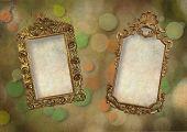 Old gold frames