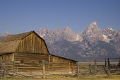 The Mormon Barn Of The Tetons